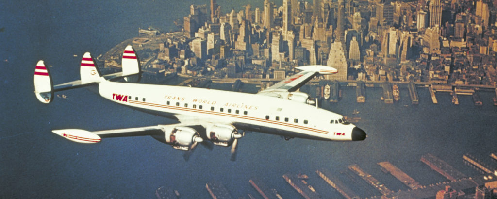 Lockheed L-049 Constellation TWA
